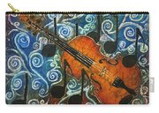 Fiddle 1 Carry-all Pouch by Sue Duda