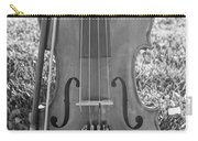 Fiddle And Bow Bw Carry-all Pouch