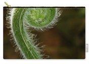 Fiddlehead Fern Curl Carry-all Pouch