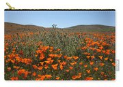 Fiddlenecks And Poppies Carry-all Pouch
