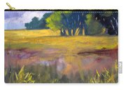 Field Grass Landscape Painting Carry-all Pouch