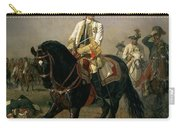 Field Marshal Baron Ernst Von Laudon 1717-90, General In The Seven Years War And War Of Bavarian Carry-all Pouch