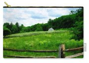 Field Near Weathered Barn Carry-all Pouch