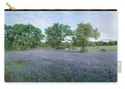 Field Of Bluebonnet Flowers, Texas, Usa Carry-all Pouch