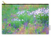 Field Of Flowers In Nature Carry-all Pouch