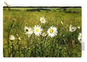 Field Of Flowers Carry-all Pouch by Les Cunliffe