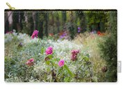 Field Of Flowers On A Rainy Day Carry-all Pouch