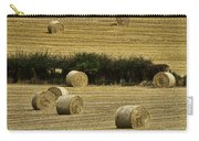 Field Of Hay Bales Carry-all Pouch