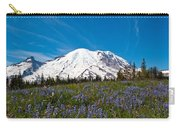 Field Of Lupines And Rainier Carry-all Pouch