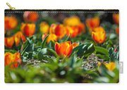 Field Of Orange Tulips Carry-all Pouch
