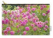 Field Of Pink Dahlias Carry-all Pouch