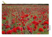 Field Of Poppies At The Lake Carry-all Pouch