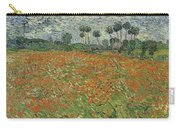 Field Of Poppies, Auvers-sur-oise, 1890 Carry-all Pouch