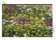 Field Of Pretty Flowers Carry-all Pouch