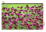 Field Of Purple Tulips 1 Carry-all Pouch