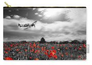 Field Of Red Carry-all Pouch