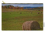Field Of Round Bales Carry-all Pouch