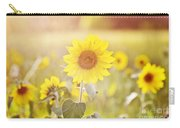 Field Of Sunshine Carry-all Pouch