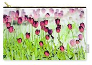 Field Of Tulips - Photopower 1492 Carry-all Pouch
