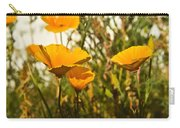 Field Of Yellow Poppies Carry-all Pouch
