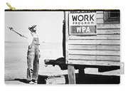 Field Office Of The Wpa Government Agency Carry-all Pouch by American Photographer