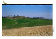Field With Cypress Trees Carry-all Pouch