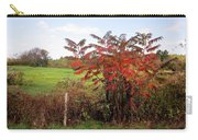 Field With Sumac In Autumn Carry-all Pouch