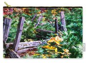Fields And Fences Of Wawona In Yosemite National Park Carry-all Pouch