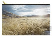 Fields Of Grass In Nevada Desert Carry-all Pouch