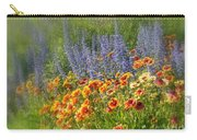 Fields Of Lavender And Orange Blanket Flowers Carry-all Pouch