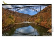 Fiery Colors At New River Gorge Bridge Carry-all Pouch