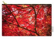 Fiery Maple Veins Carry-all Pouch