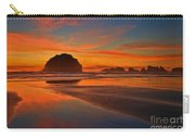 Fiery Ocean Stream Carry-all Pouch by Adam Jewell