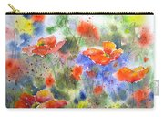 Fiery Poppies Carry-all Pouch