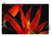 Fiery Red Bird Of Paradise Carry-all Pouch