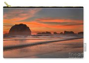 Fiery Ripples In The Surf Carry-all Pouch
