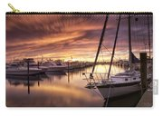 Fiery Sunset At Stuart Marina Carry-all Pouch