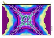 Fiery Tendrils Fractal Carry-all Pouch