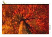 Fiery  Tree Carry-all Pouch