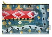 Fiesta 4- Colorful Pattern Painting Carry-all Pouch