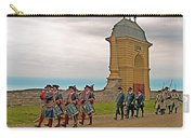 Fife And Drum Parade In Louisbourg Living History Museum-1744-ns Carry-all Pouch