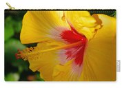 'fifth Dimension' Hibiscus Carry-all Pouch