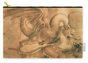 Fight Between A Dragon And A Lion Carry-all Pouch