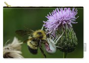 Fight Time Bee And Spider Carry-all Pouch