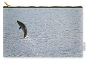 Fighting Chinook Salmon Carry-all Pouch