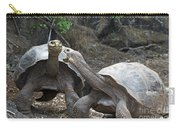 Fighting Galapagos Giant Tortoises Carry-all Pouch
