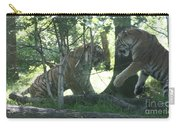 Fighting Siberian Tigers Carry-all Pouch