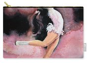 Figure Skater 20 Carry-all Pouch by Hanne Lore Koehler