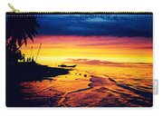 Fiji Paradise Sunset Carry-all Pouch