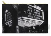 Film Homage Alfred Hitchcock Torn Curtain 1966 Orpheum Theater St. Paul Minnesota 1966 Carry-all Pouch